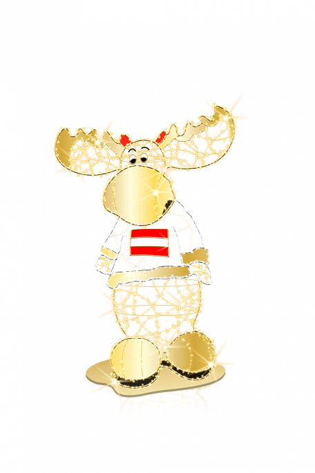 Grafische Darstellung des Lovely Moose 3D