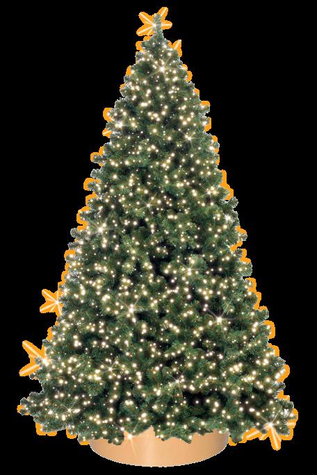 Visualisierung des Premium Christmas Tree